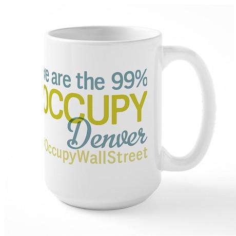 Occupy Denver Large Mug
