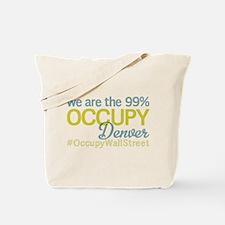 Occupy Denver Tote Bag