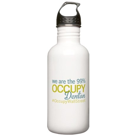 Occupy Denton Stainless Water Bottle 1.0L
