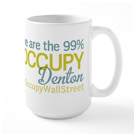 Occupy Denton Large Mug