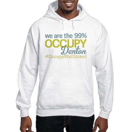 Occupy Denton Hooded Sweatshirt