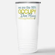 Occupy Den Haag Stainless Steel Travel Mug
