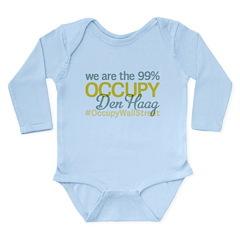 Occupy Den Haag Long Sleeve Infant Bodysuit