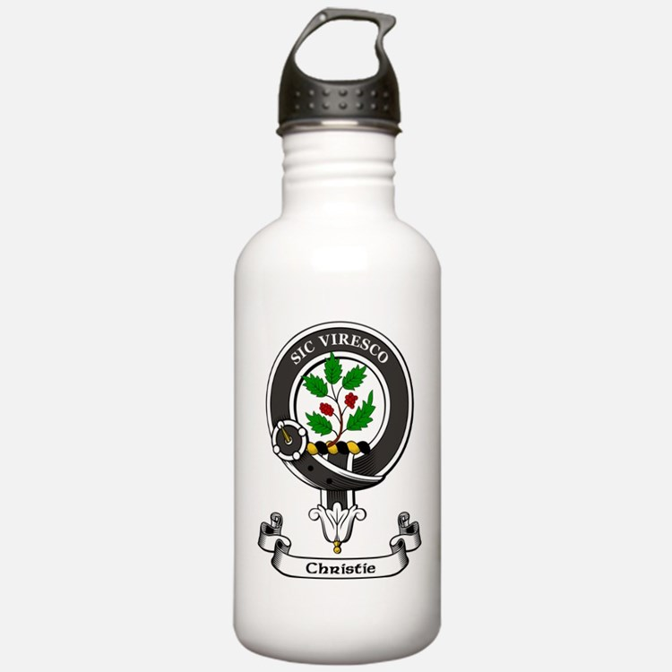 Badge-Christie Sports Water Bottle