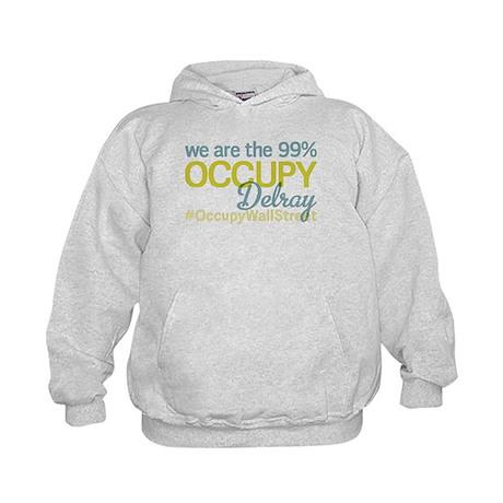 Occupy Delray Beach Kids Hoodie
