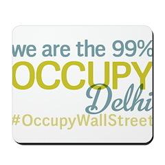 Occupy Delhi Mousepad