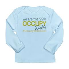 Occupy Delhi Long Sleeve Infant T-Shirt
