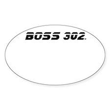 BOSS 302 Decal