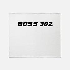 BOSS 302 Throw Blanket