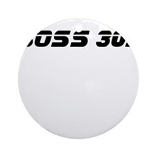 BOSS 302 Ornament (Round)