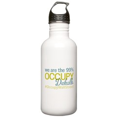 Occupy Dekalb Water Bottle