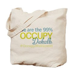 Occupy Dekalb Tote Bag