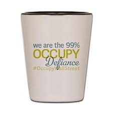 Occupy Defiance Shot Glass