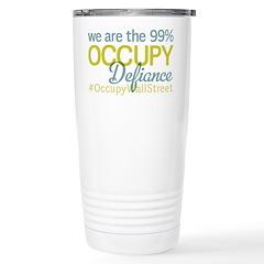Occupy Defiance Travel Mug