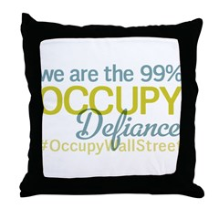 Occupy Defiance Throw Pillow