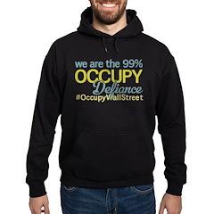 Occupy Defiance Hoodie (dark)