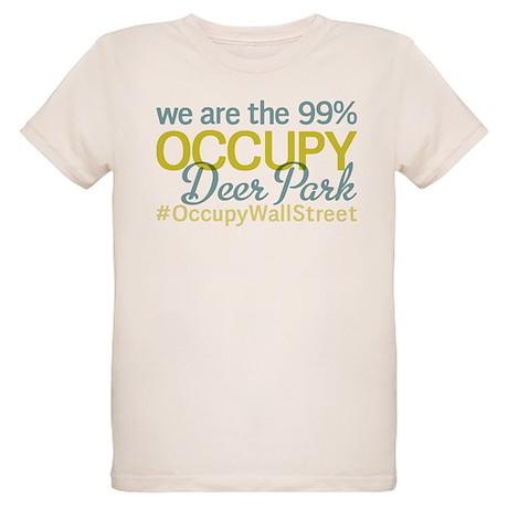 Occupy Deer Park Organic Kids T-Shirt