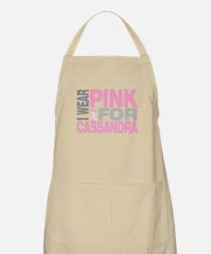 I wear pink for Cassandra Apron