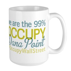 Occupy Dana Point Large Mug
