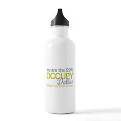 Occupy Dallas Water Bottle