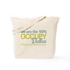 Occupy Dallas Tote Bag