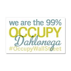 Occupy Dahlonega Car Magnet 20 x 12