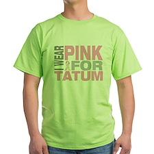 I wear pink for Tatum T-Shirt