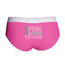 I wear pink for Tatum Women's Boy Brief