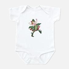 Holly Berry Elf Infant Bodysuit