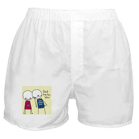 God Hates You Boxer Shorts