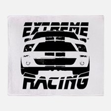 Extreme Mustang 05 2010 Throw Blanket