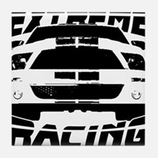 Extreme Mustang 05 2010 Tile Coaster