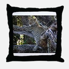 Leopard Cub Throw Pillow