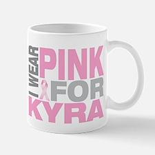 I wear pink for Kyra Mug