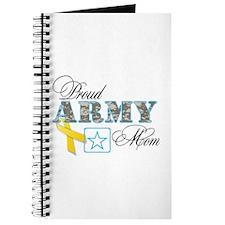 Proud Army Mom w/Ribbon Journal