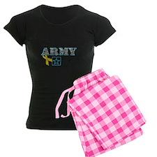 Proud Army Mom w/Ribbon Pajamas