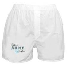 Proud Army Mom Boxer Shorts