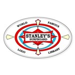 Stanley's World Famous Oval Sticker