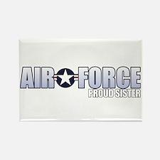 USAF Sister Rectangle Magnet