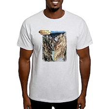 Lower Falls,Yellowstone Park 2 T-Shirt