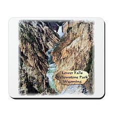 Lower Falls,Yellowstone Park 2 Mousepad