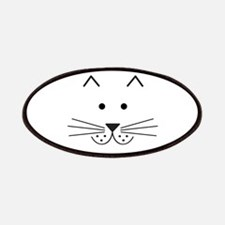 Cartoon Cat Face Patches