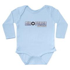 USAF Sister Long Sleeve Infant Bodysuit