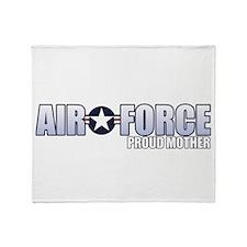 USAF Mother Throw Blanket
