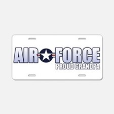 USAF Grandpa Aluminum License Plate