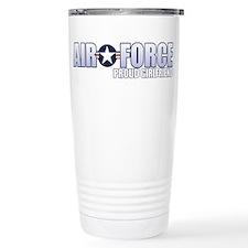 USAF Girlfriend Stainless Steel Travel Mug