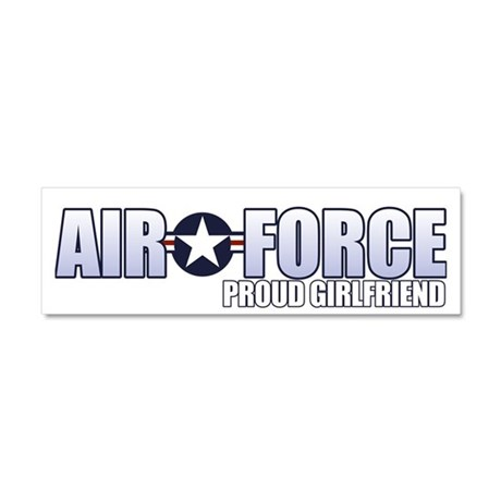 USAF Girlfriend Car Magnet 10 x 3