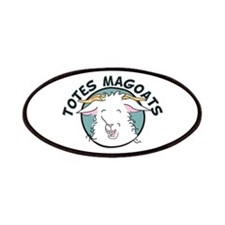 Totes MaGoats Patches