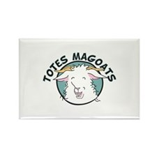 Totes MaGoats Rectangle Magnet