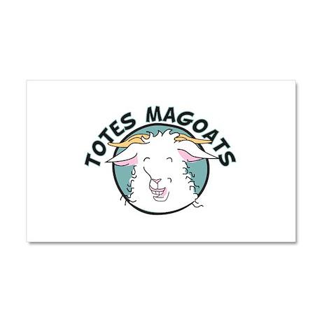 Totes MaGoats Car Magnet 20 x 12